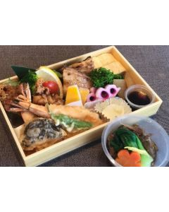 Okazu Moriawase (Today's special assorted dish)