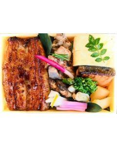 Whole Unagi Don + Okazu moriawase set